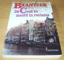 """Het boek """"De Cock en moord in reclame"""" van Appie Baantjer."""