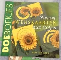 Boekje - Nieuwe wenskaarten met stofjes
