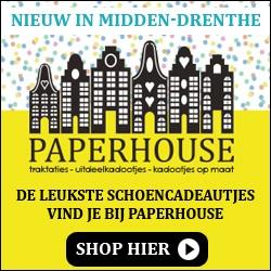 Paperhouse, traktaties, uitdeelkadootjes, kadootjes op maat