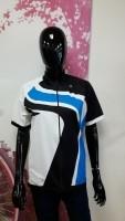 Shirt km dobbiacco wit-blauw L