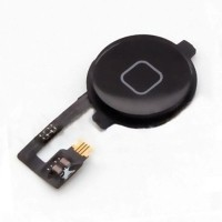 Voor Apple iPhone 4 - A+ Home Button Assembly met Flex Cabl…