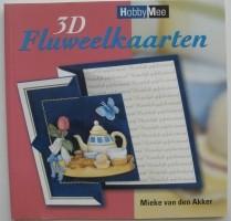 Boekje - 3D fluweelkaarten
