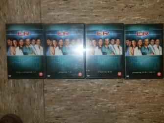de tv serie ER bestaande uit 4 dvd
