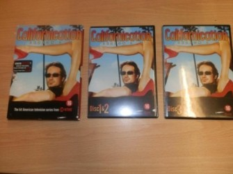 Dvd boxset serie californication nieuwstaat