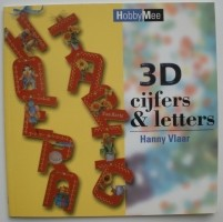 Boekje - 3D cijfers & letters