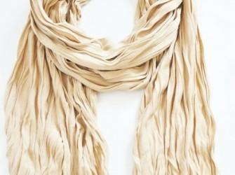 Tricot sier sjaal in vele kleuren