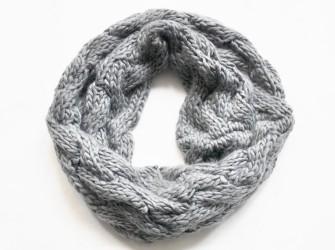 grof gebreide col sjaal