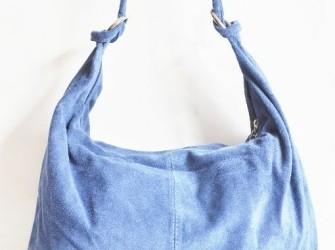 Weekaanbieding Suède shopper tas