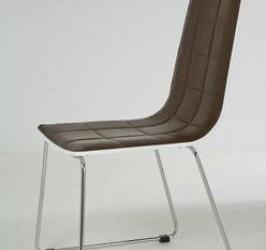 Bruin Leer Design Harlingen stoel Kare Design High