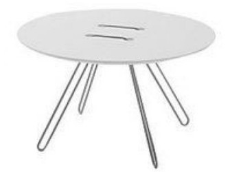 "Design Bijzettafel Als Knoop ""Twin Table"""