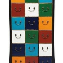 Rainbow Cabinet Ladekast 10 Laden Kare Design Harl