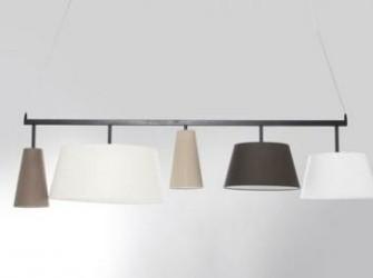 Hanglamp Parijs 5 Lampenkappen Kare Design