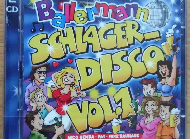 """Nieuwe originele dubbel-CD """"Ballerman Schlager-Disco Vol. 1…"""