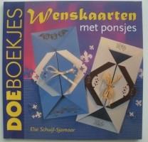 Boekje - Wenskaarten met ponsjes