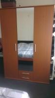 3-deurs hang/leg kledingkast