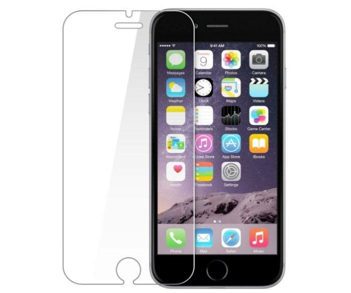 2-Pack Screen Protector iPhone 6S Tempered Glass Film Gehar…