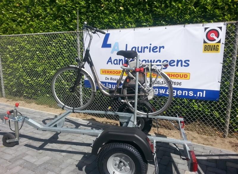 Te koop en te huur (elektrische)fietsaanhangwagen