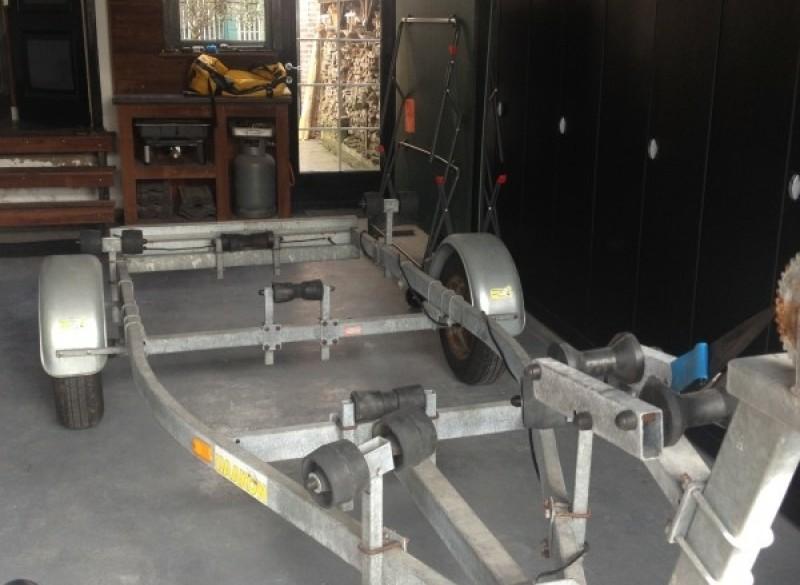 Kantelbare V-boottrailer