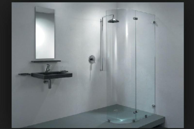 Glazen douche wand van het merk balance den helder - Balances hoogslaper ...