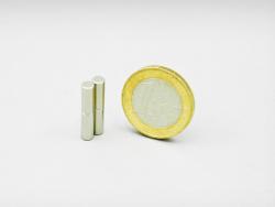 Staafmagneet 4 x 10 mm, neodymium