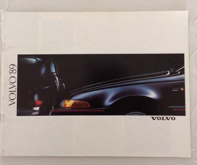 Folder/brochure - VOLVO'89