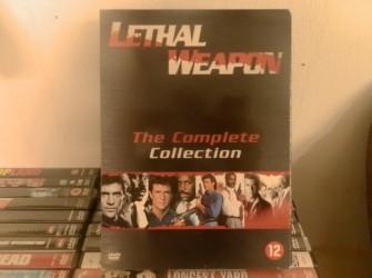 DVD box Lethan Weapon