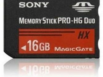 Sony Pro Duo memory 16 GB