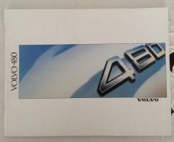 Folder/brochure - VOLVO 480