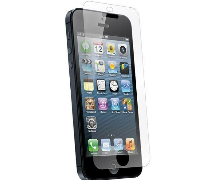 5-Pack Screen Protector iPhone 5 Tempered Glass Film Gehard…