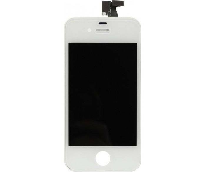 iPhone 4 Scherm (Touchscreen + LCD + Onderdelen) A+ Kwalite…