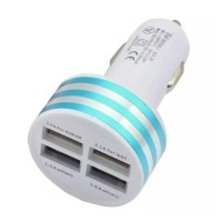 High-Speed Quad 4x USB Port Autolader/Carcharger 5V - 4.1A…