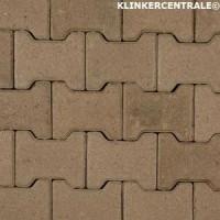 14072 NIEUWE betonklinkers grijs H-klinkers 8cm 10cm dik KO…