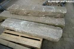 18063 60m1 grijs gespikkeld authentieke granietbanden grani…