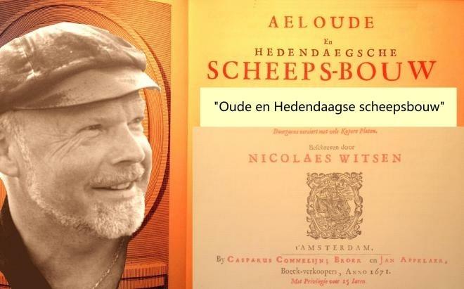 Nico Vader aan tafel met Jan Hoekema