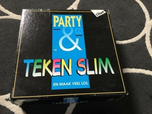 gezelschapsspel Party  - Teken slim