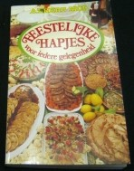 kookboek van Albert Mol, feestelijke hapjes, NIEUW,1986