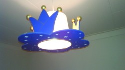 Schattig koninklijk hanglampje- Steinhauer