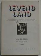 Oud boekje - Levend Land - Taal en Teken
