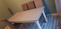 Eethoek en salontafel!