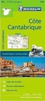 Fietskaart - Wegenkaart - Landkaart 143 Costa de Cantabria…