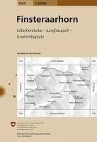 Topografische Wandelkaart Zwitserland 1249 Finsteraarhorn L…
