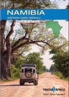 Reisgids Namibia Namibie Self-Drive Guide A4 Formaat   Trac…