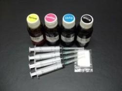 Geschikt Epson navul inkt SET VAN 4 KLEUREN zwart cyaan mag…