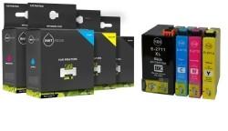 Geschikt Set Epson 27XL T2711 tot T2714 inktcartridge Zwart…