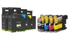 Geschikt Brother LC-223 XL Set inktcartridge van Inktmedia…