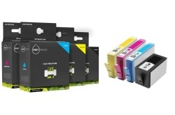 Geschikt Hp 920XL serie Set cartridges  met chip van Inktme…