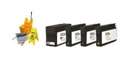 Geschikt HP 932 / 933 multipack serie reiniging cartridges…