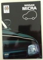 Folder/brochure Nissan Micra - 1993