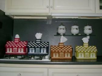 tissuebox model huisje