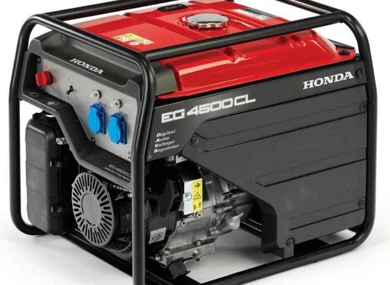 Aggregaat Honda EG4500, 3,6 kVA, 230V met digitale AVR
